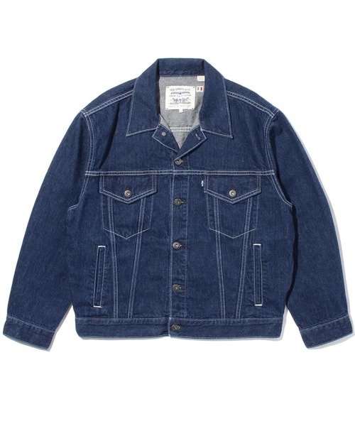 LEVI'S(R) MADE & CRAFTED(R) OVRSZD TYPE III デニムジャケット LMC MAJORELLE BLUE