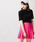 WEGO(ウィゴー)の「WEGO/無地プリーツミニスカート(スカート)」|ピンク系その他