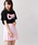WEGO(ウィゴー)の「WEGO/無地プリーツミニスカート(スカート)」|ライトピンク