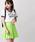 WEGO(ウィゴー)の「WEGO/無地プリーツミニスカート(スカート)」|ライム