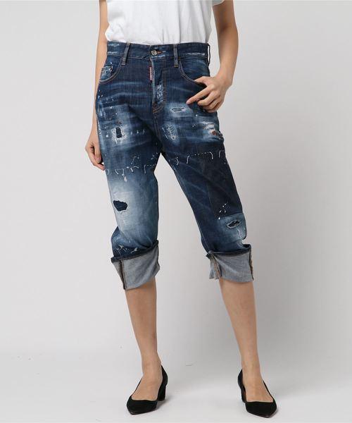 雑誌で紹介された Pants 5 Pockts Pockts/Kawaii jean jean/Dark super super patch knee wash/0182(デニムパンツ)|DSQUARED2(ディースクエアード)のファッション通販, ギフトショップようこそ屋:b3775374 --- device.deutschefewos.de