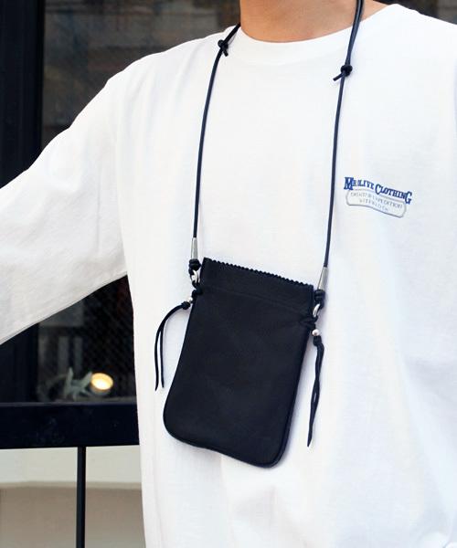 【2018A/W新作★送料無料】 DEER LEATHER LEATHER SMALL BAG(ディアスキン スモール サコッシュ バック)(ボディバッグ サコッシュ/ウエストポーチ) スモール SunKu(サンク)のファッション通販, 斜里郡:868ca0da --- pyme.pe