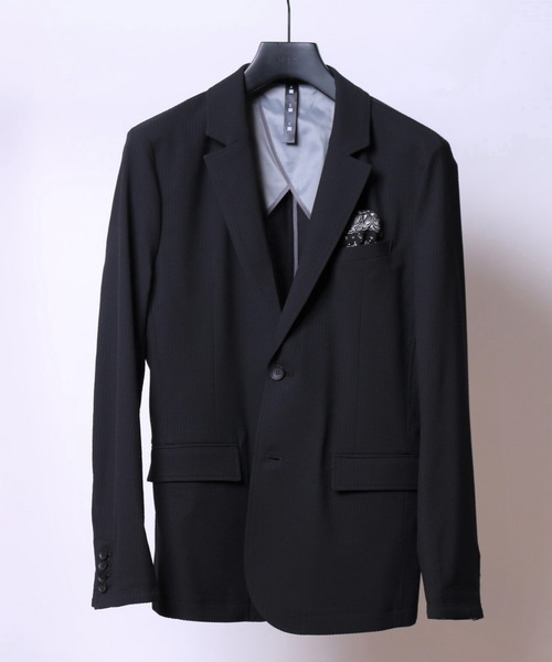 4way seersucker jacket