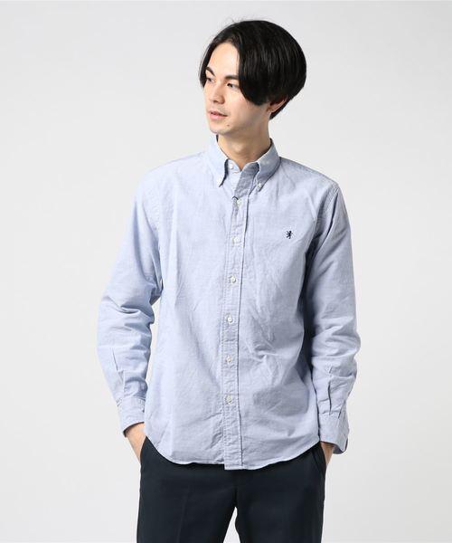 【Gymphlex】オックスフォード ボタンダウンシャツ MEN