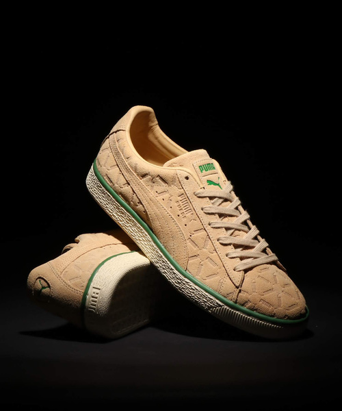 PUMA(プーマ)のPUMA   SUEDE CLASSIC LUX (PEBBLE-AMAZON)( 7a66df1f4