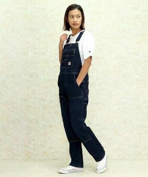 【carhartt/カーハート】Womens Double Front Bib Overalls 104044