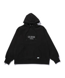 <GUESS GREEN LABEL × RICKY POWELL> B/BOYS SWEAT HOODY 3/パーカー