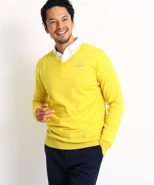 【大放出セール】 ハイゲージVネックセーター, モーターマガジン Web Shop 6252ee18