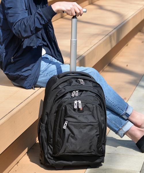 【SWISSWIN/スイスウィン】拡張機能/3~5泊用 キャリーバッグ キャリーケース リュックサック