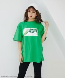 【コカ・コーラ/ファンタ/スプライト/チェリーコーク】Drink CollectionコラボTシャツグリーン