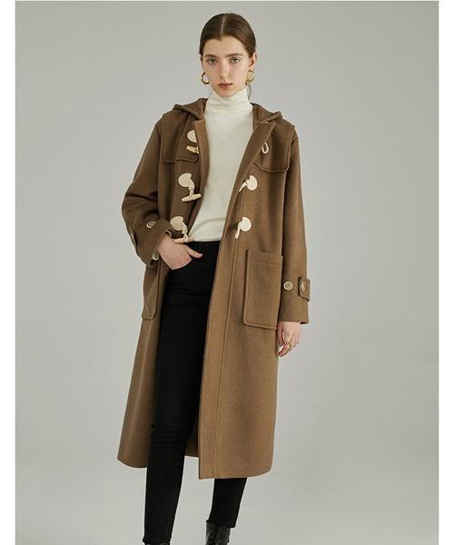 【Fano Studios】Hooded duffle coat FC19W140