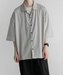 remer(リメール)のloose vintage open collar shirt/ルーズヴィンテージオープンカラーシャツ(シャツ/ブラウス)