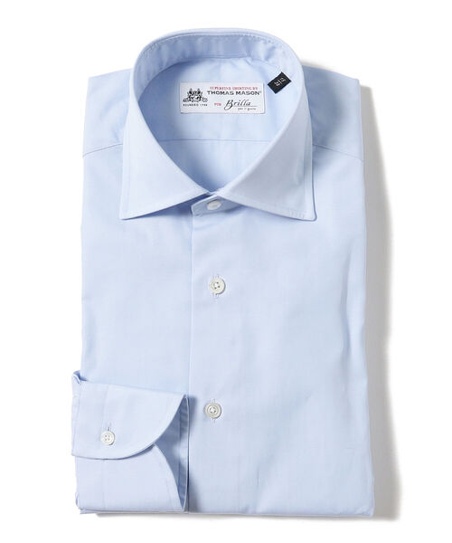 Brilla per il gusto / ブロード ワイドカラーシャツ