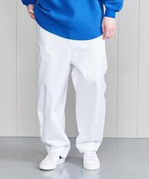 <H>WHITE&WHITE BALLOON TROUSERS/パンツ
