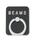bpr BEAMS(ビーピーアール ビームス )の「BEAMS / カラーリング(スマホ用)(モバイルアクセサリー)」|ブラック