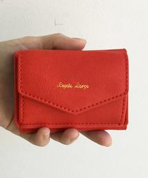 haco!(ハコ)のLegato Largo シュリンクフェイクレザー三つ折りミニ財布(財布)