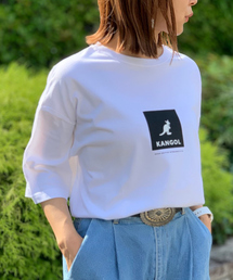 4327103fdc438 KANGOL(カンゴール)の【KANGOL / カンゴール】 ビッグシルエット BOX プリント Tシャツ