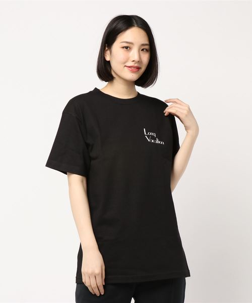 Long VacationロゴプリントTシャツ