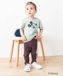 petit main(プティマイン)の【DISNEYコラボ】星アップリケ半袖Tシャツ(Tシャツ/カットソー)