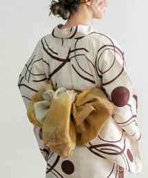 titivate(ティティベイト)の日本製 単品グラデーションしわ兵児帯(和装小物)
