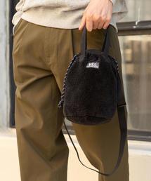 【女性にもオススメ】【WEB限定】MEI(メイ)別注ボアフリース巾着ショルダーバッグ