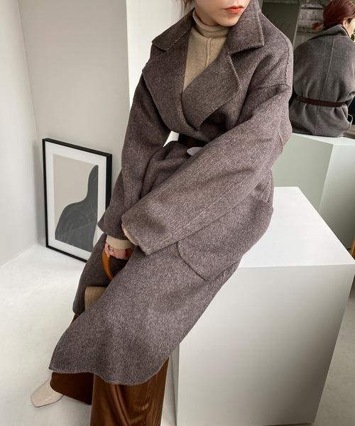 【chuclla】【2020/AW】100% wool hand made coat sb-2 cb-1 chw1318