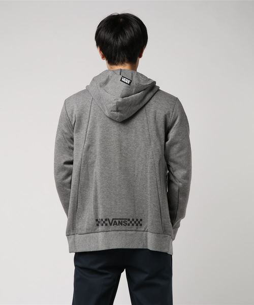 VANS ヴァンズ Vans ZIP UP HOODIE CD18FW-MC36 H-GRAY