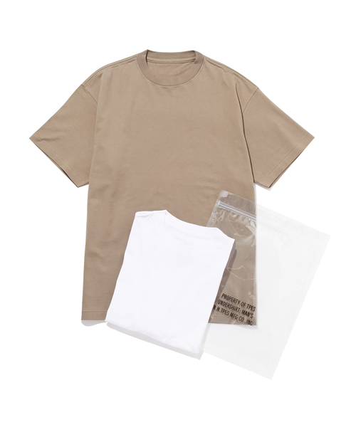 N.HOOLYWOOD SPRING & SUMMER 2019 TEST PRODUCT  EXCHANGE SERVICE T-SHIRT ONE SET OF 2 T-SHIRTS