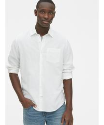 GAP(ギャップ)のスタンダードフィットシャツ(リネンコットン)(シャツ/ブラウス)