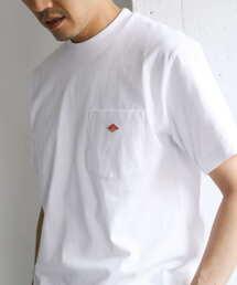 Danton(ダントン)のDANTON クルーネック半袖ポケットTシャツ(Tシャツ/カットソー)