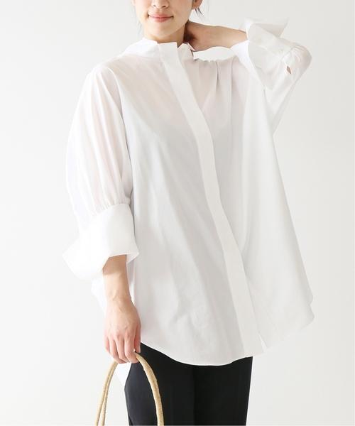 安い割引 高密度ブロードドルマンスリーブシャツ par VERMEIL パー◆(シャツ/ブラウス)|VERMEIL par iena(ヴェルメイユパーイエナ)のファッション通販, アクアトレンディ:b0960d0a --- svarogday.com