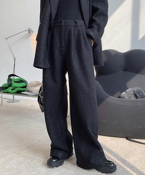 【chuclla】【2020/AW】Boa wide pants chw1390