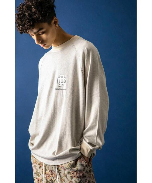 <DISCUS × monkey time> COLLEGE LG LONG SLEEVE T/Tシャツ