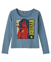 FRANK KOZIK/HYS 45RPM プリント チビTシャツ