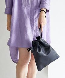 THE CASE(ザケース)の【THE CASE】TSUBAKI / cow leather handbag(ハンドバッグ)