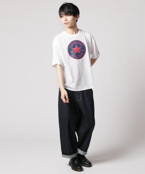 コンバース ロゴ プリント 半袖 Tシャツ