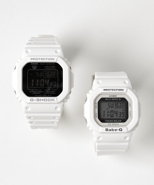 3c154cc99e Pair Model / 電波ソーラー GW-M5610MD-7JF × BGD-5000-7JF(腕時計)|G ...