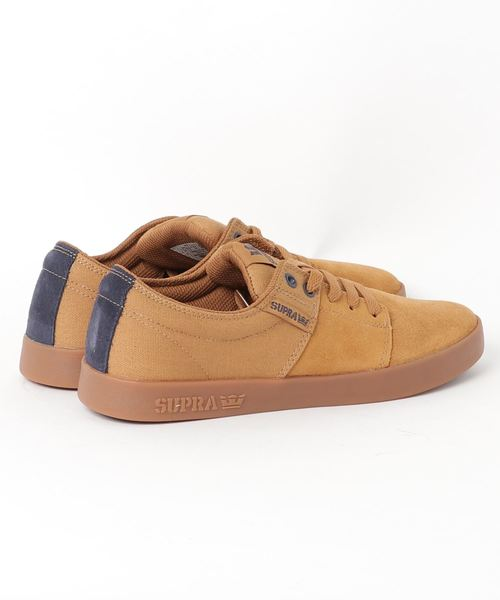 SUPRA / STACKS II (TAN/NAVY-GUM)