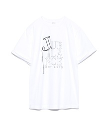 Mila Owen(ミラオーウェン)の3段ロゴプリントTシャツ(Tシャツ/カットソー)