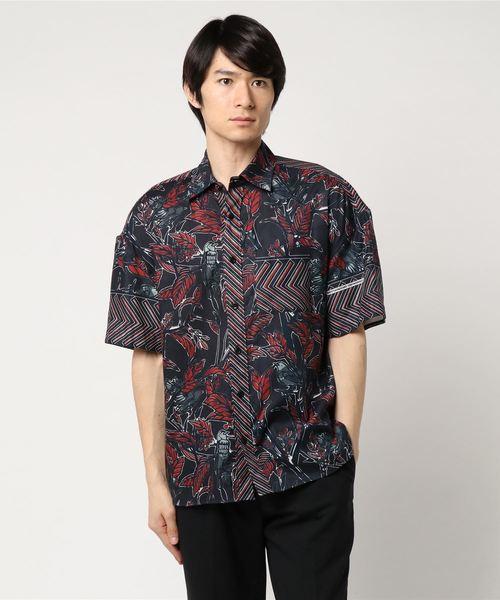 Yoshio Kubo / ヨシオクボ DRY LEAF 半袖シャツ