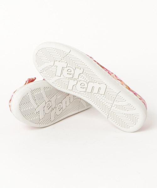 Terrem(テレム)の「Terrem × plantica テレム プランティカ / 花柄総柄スリッポンローファースニーカー / PTS-2014306(スニーカー)」|詳細画像