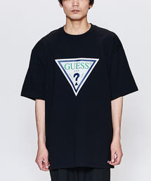 <GUESS GREEN LABEL> TRI LOGO TEE/Tシャツ