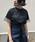 &g'aime(アンジェム)の「【&g'aime】ロゴプリント×チュールTシャツ(Tシャツ/カットソー)」|詳細画像