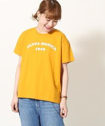 サマープリントリラックスTシャツ