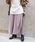 tiptop(ティップトップ)の「ニットプリーツスカート(スカート)」|グレイッシュベージュ