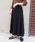 tiptop(ティップトップ)の「ニットプリーツスカート(スカート)」|ブラック