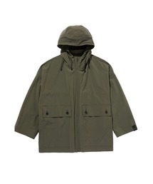 SPRING2020 HOODED HALF COATカーキ