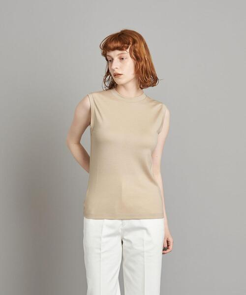 <Steven Alan>WOOL JERSEY NO SLEEVE PULLOVER/Tシャツ