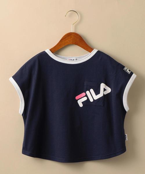 〔WEB限定〕FILA(フィラ)リンガーTシャツ