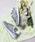 New Balance(ニューバランス)の「WL574(スニーカー)」 グリーン